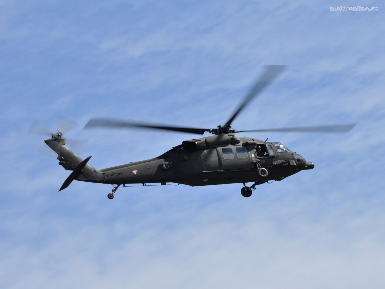 Helicopter S 70 Black Hawk