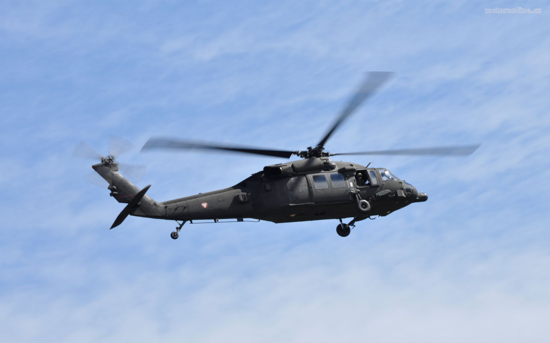 Helicopter S 70 Black Hawk widescreen